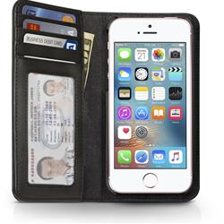 Twelve South BookBook Leather Case For iPhone 5 - Classic Black