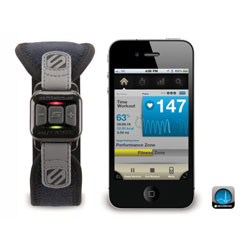 Scosche myTREK Wireless Pulse Monitor For iPhone & iPod