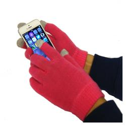 Orbyx Smart Touch Gloves - Pink