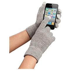 Orbyx Smart Touch Gloves For Touchscreen Devices - Grey