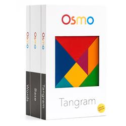 Osmo Game System Starter Kit For iPad - Tangram/Newton/Words