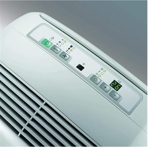 DeLonghi PAC N82 ECO Real Feel Portable Air Conditioner