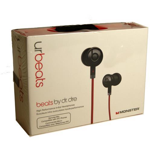64c067e2b2a New Monster Beats by Dr Dre iBeats urBeats In Ear Headphones Earphones -  Black - eoutlet.co.uk