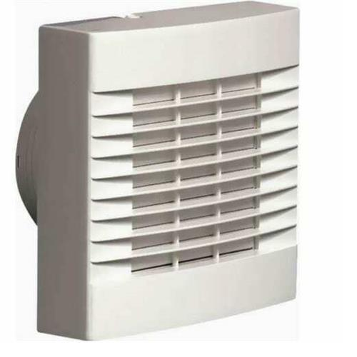 """Bathroom Extractor Fan 4"""" 100mm - Timer & Automatic ..."""