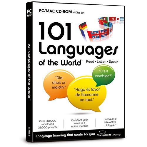 101 Languages of the World PC CDROM