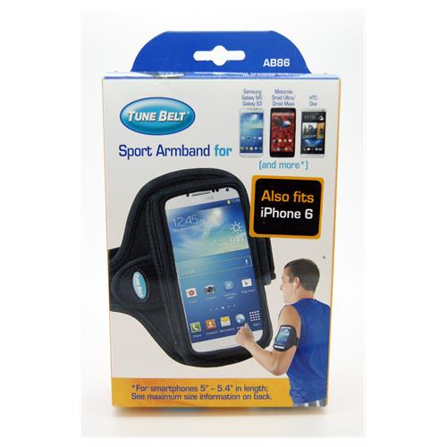 finest selection 40aed db643 Tune Belt Sport Armband for Midsized Smartphones iPhone 6s, 6 Samsung  Galaxy S4, 3 & HTC One M7