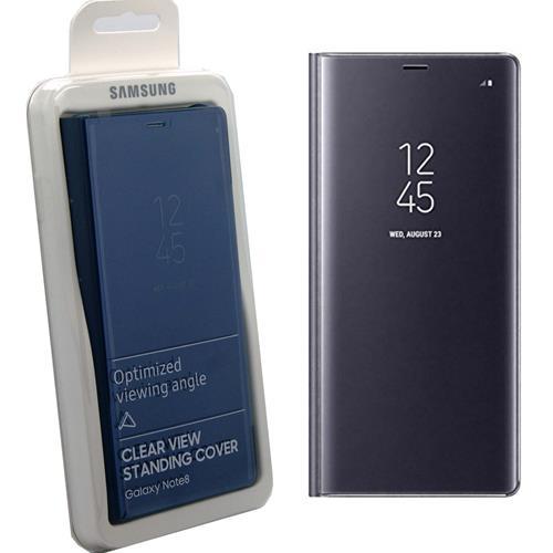 big sale ca4c4 fdaca Samsung Clear View Case for Galaxy Note 8 - Orchid Grey