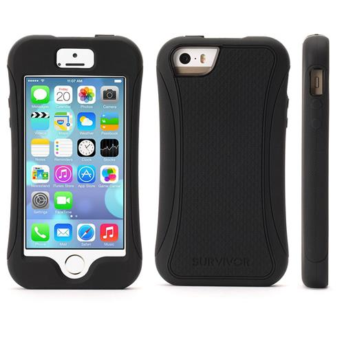 free shipping a9144 fe24b Griffin Survivor Slim Case for iPhone 5s/5/SE