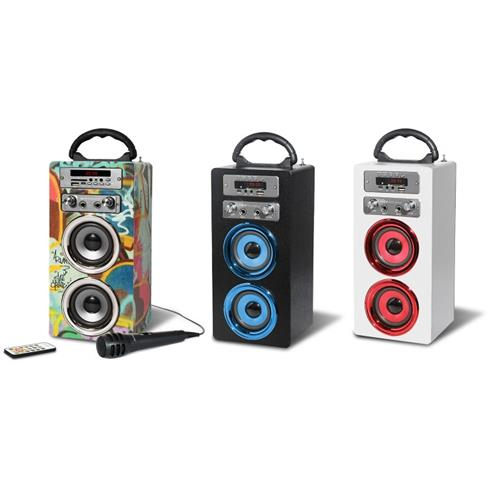pure acoustics mcp 20 bluetooth karaoke speaker